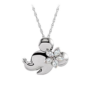 Minnie Mouse Gold and Diamond Necklace - Aulani, A Disney Resort & Spa