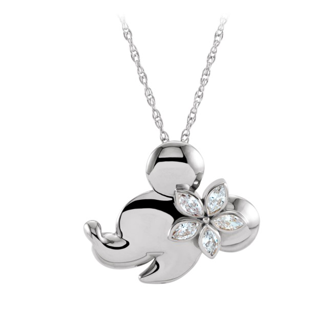Minnie Mouse Gold and Diamond Necklace – Aulani, A Disney Resort & Spa