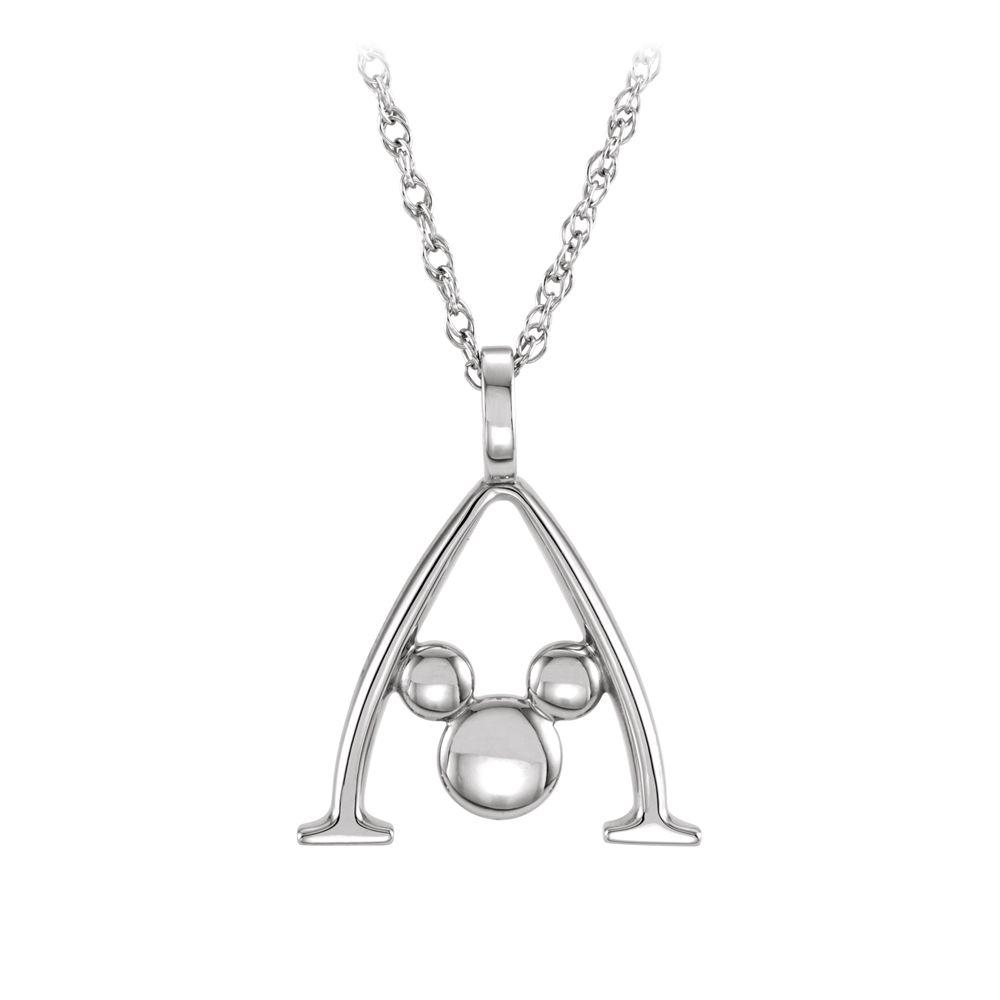 Mickey Mouse Gold Necklace  Aulani, A Disney Resort & Spa