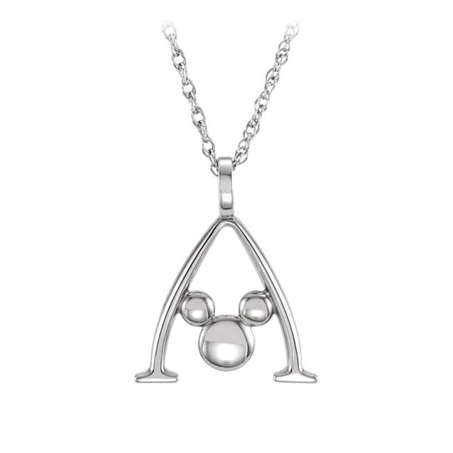 Mickey Mouse Gold Necklace – Aulani, A Disney Resort & Spa