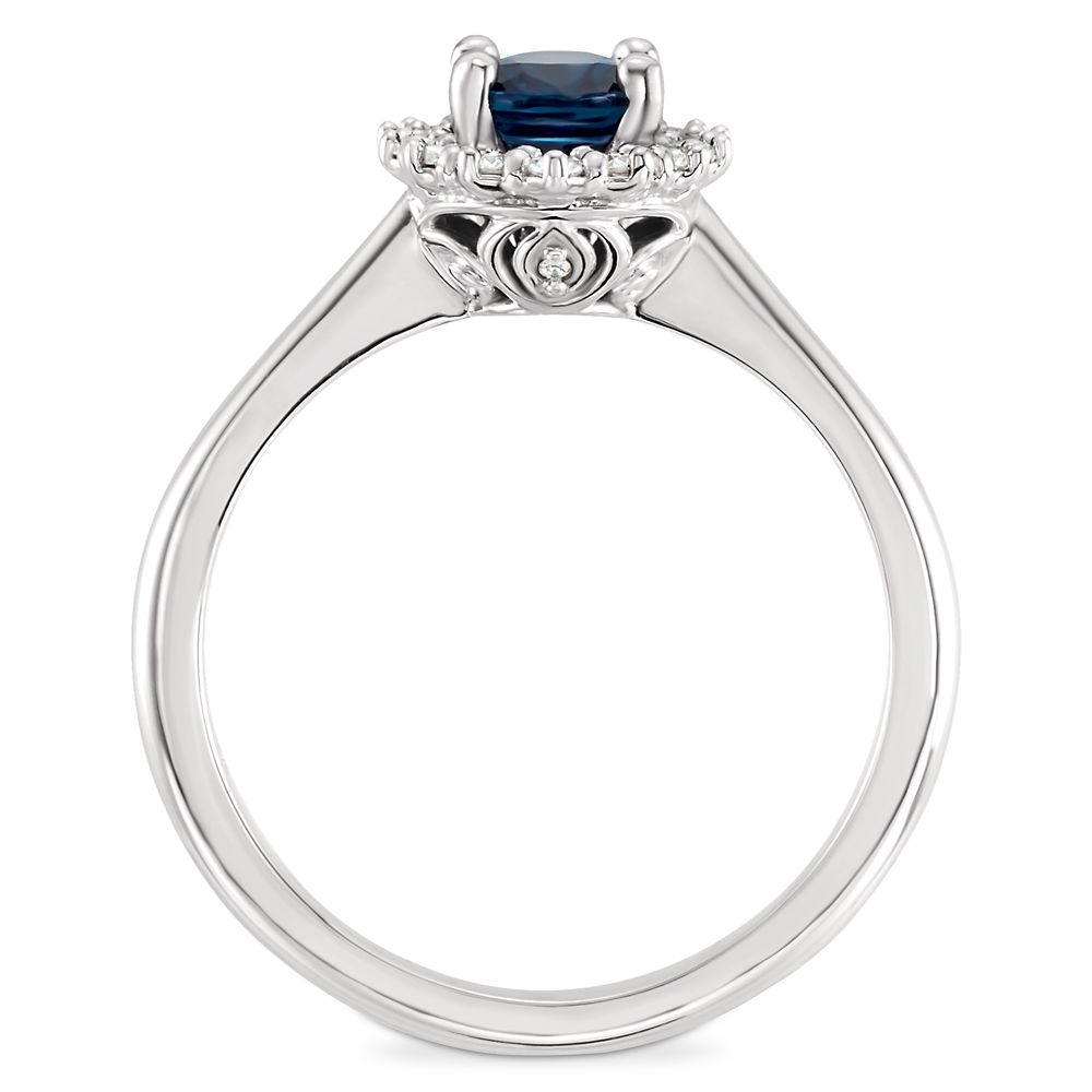Cinderella Carriage Fairy Tale Sapphire Engagement Ring