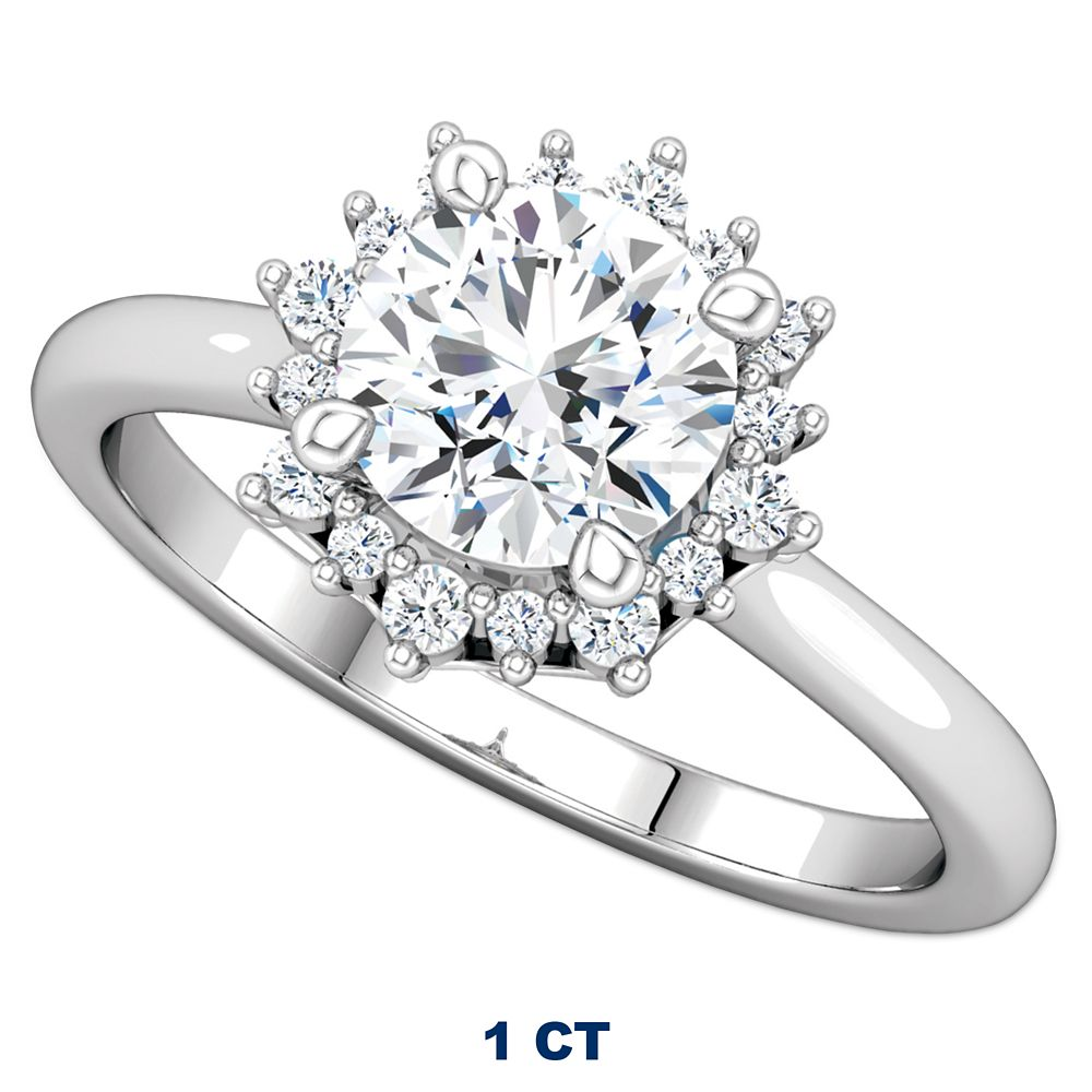 Disney Crown Fairy Tale Diamond Engagement Ring