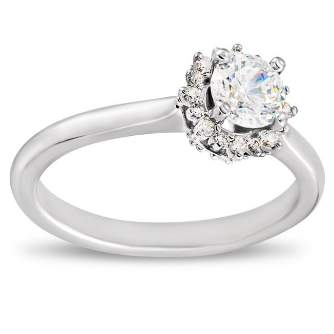 Disney Crown Fairy Tale Diamond Engagement Ring
