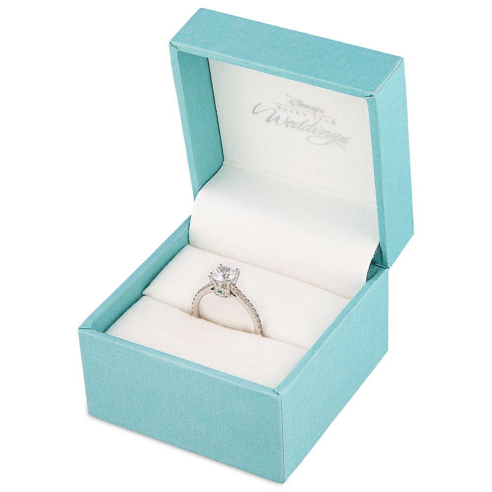 Fantasyland Castle Fairy Tale Diamond Engagement Ring
