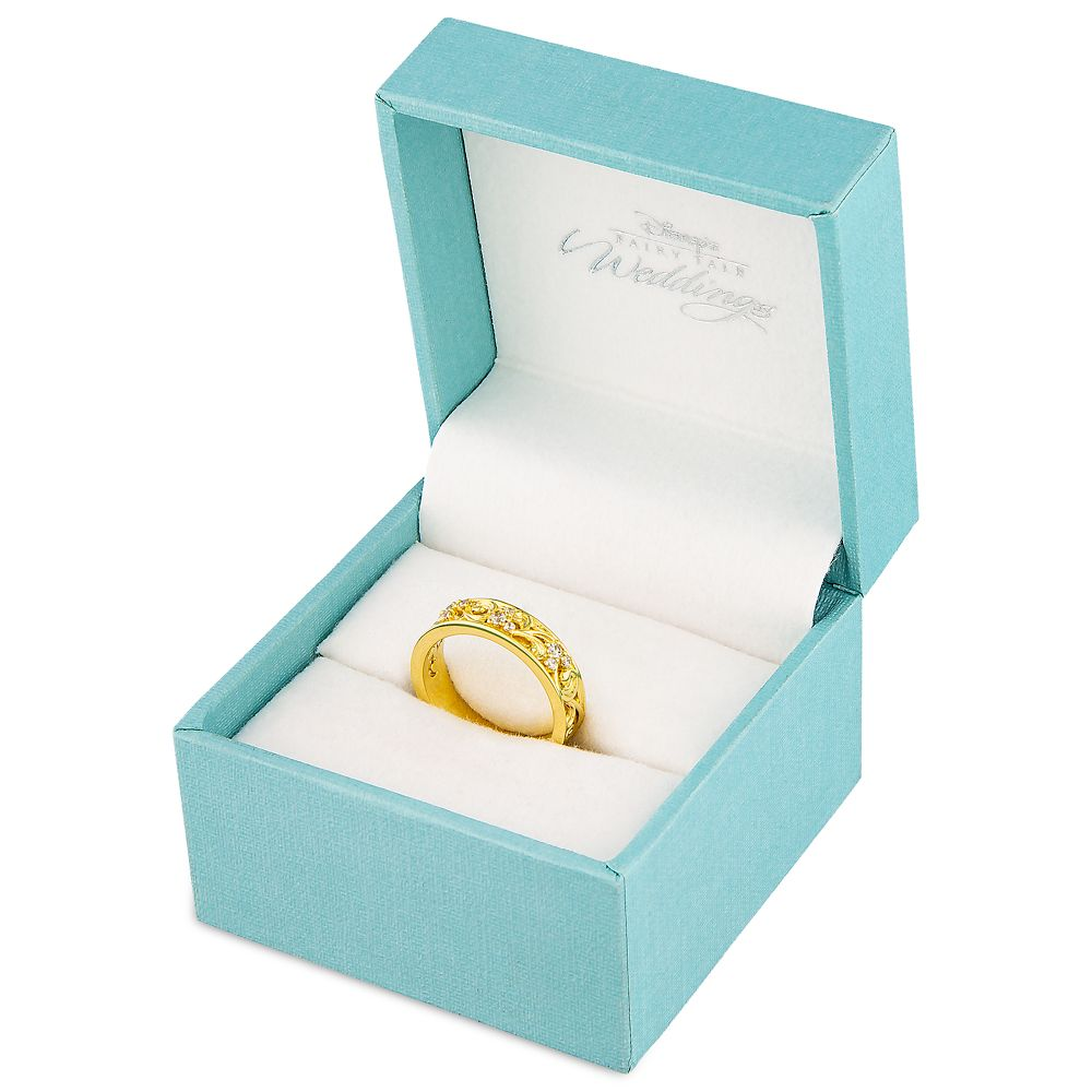 Mickey Mouse Fairy Tale Gold Anniversary Ring