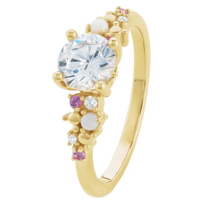 Disney's Fairy Tale Weddings 1 Carat Diamond Engagement Ring