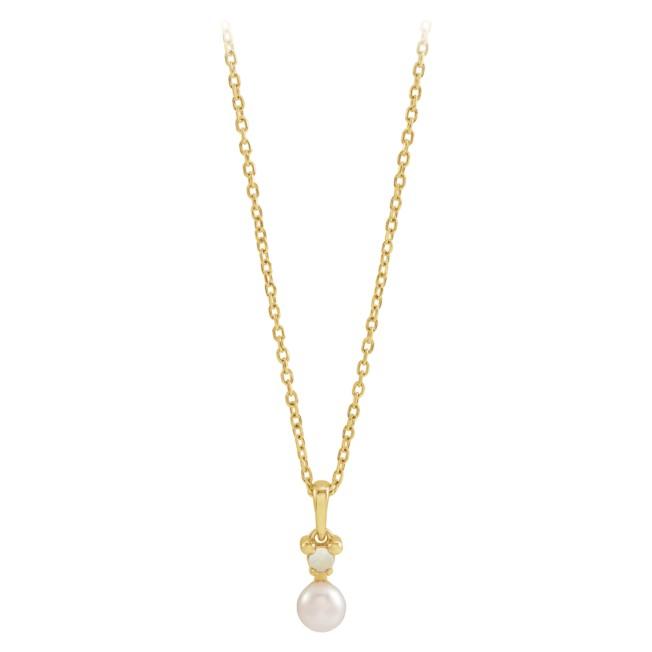 Disney's Fairy Tale Weddings Pearl Pendant Necklace