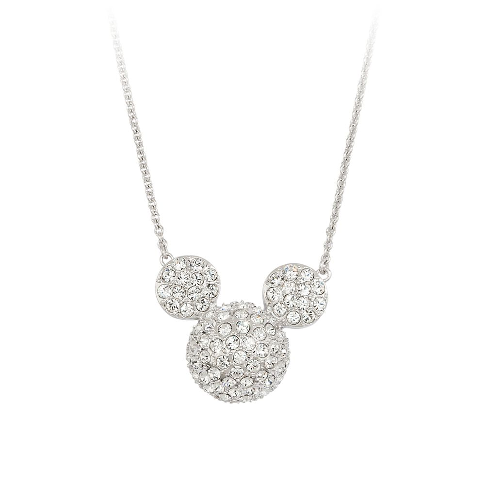 Mickey Mouse Icon Necklace by Arribas  Large Domed Official shopDisney