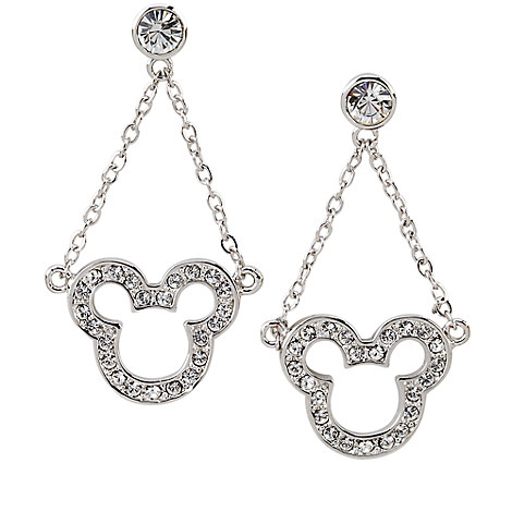 Mickey Mouse Dangle Earrings by Arribas