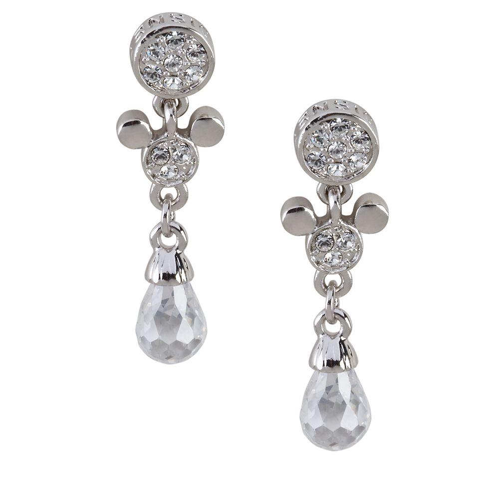 Mickey Mouse Teardrop Earrings by Arribas Official shopDisney