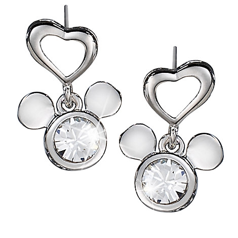 Mickey Mouse Icon Earrings by Arribas