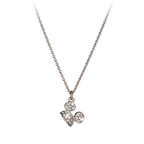 Mickey Mouse Ear Hat Necklace by Arribas