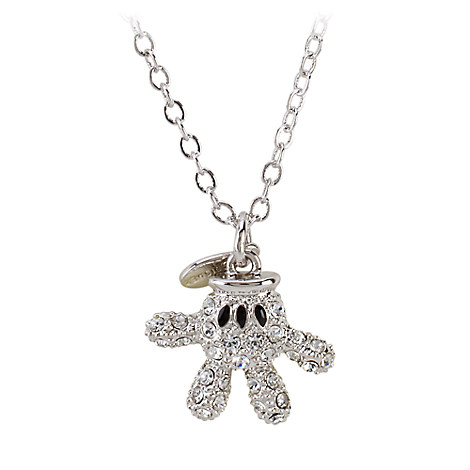 Mickey Mouse Necklace by Arribas - Mickey Glove