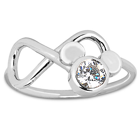 Mickey Mouse Infinity Loop Ring by Arribas Brothers