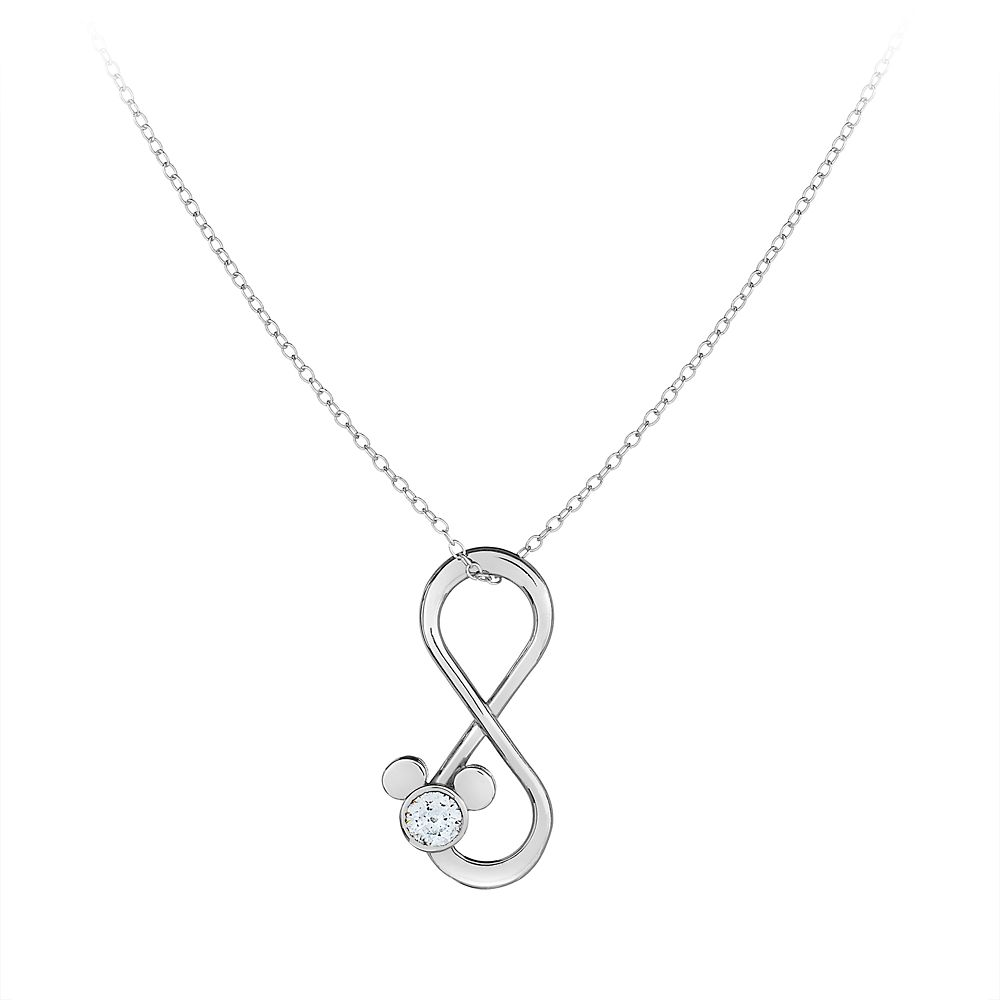 Mickey Mouse Infinity Loop Necklace by Arribas Brothers Official shopDisney