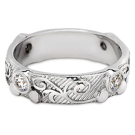 Mickey Mouse Scroll Ring by Arribas Brothers