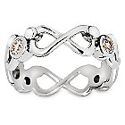Mickey Mouse Eternity Ring by Arribas Brothers