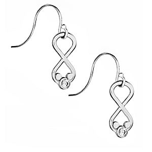 Mickey Mouse Infinity Loop Earrings by Arribas Brothers