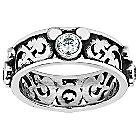 Mickey Mouse Filigree Ring by Arribas Brothers