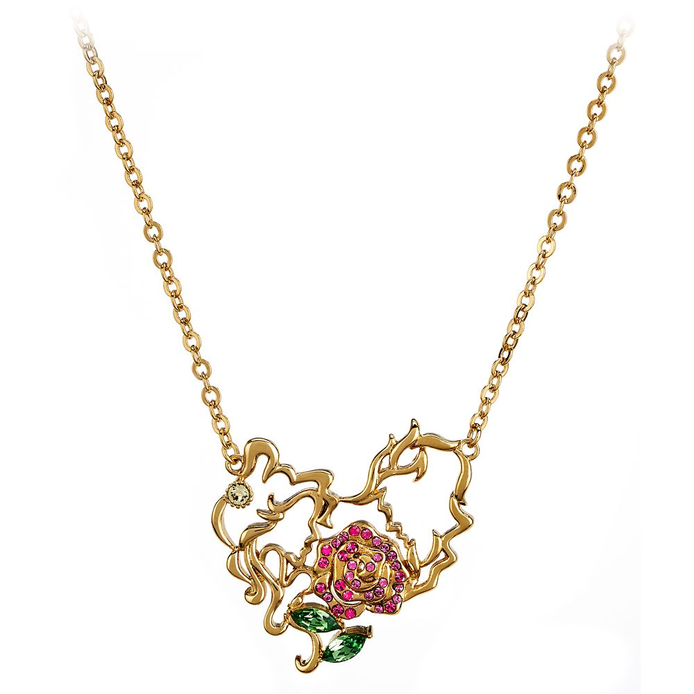 Beauty and the Beast Necklace by Arribas