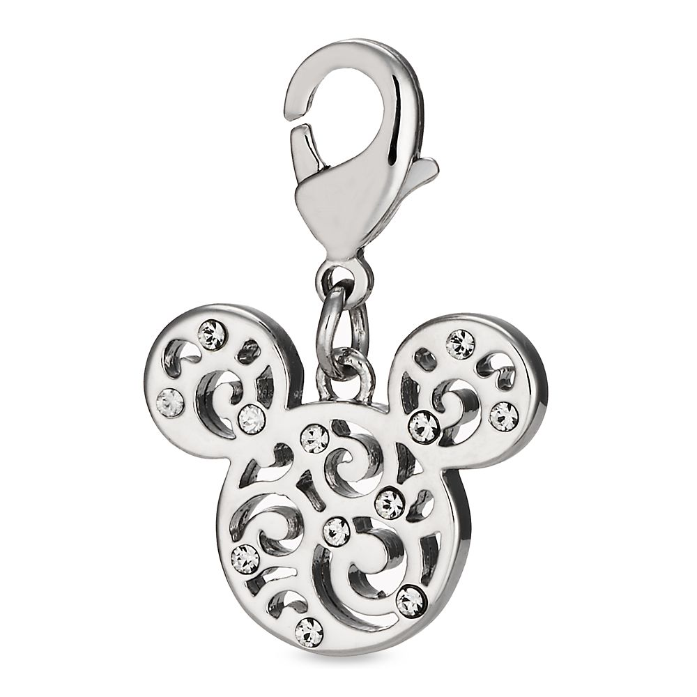 Mickey Mouse Filigree Icon Charm by Arribas Official shopDisney