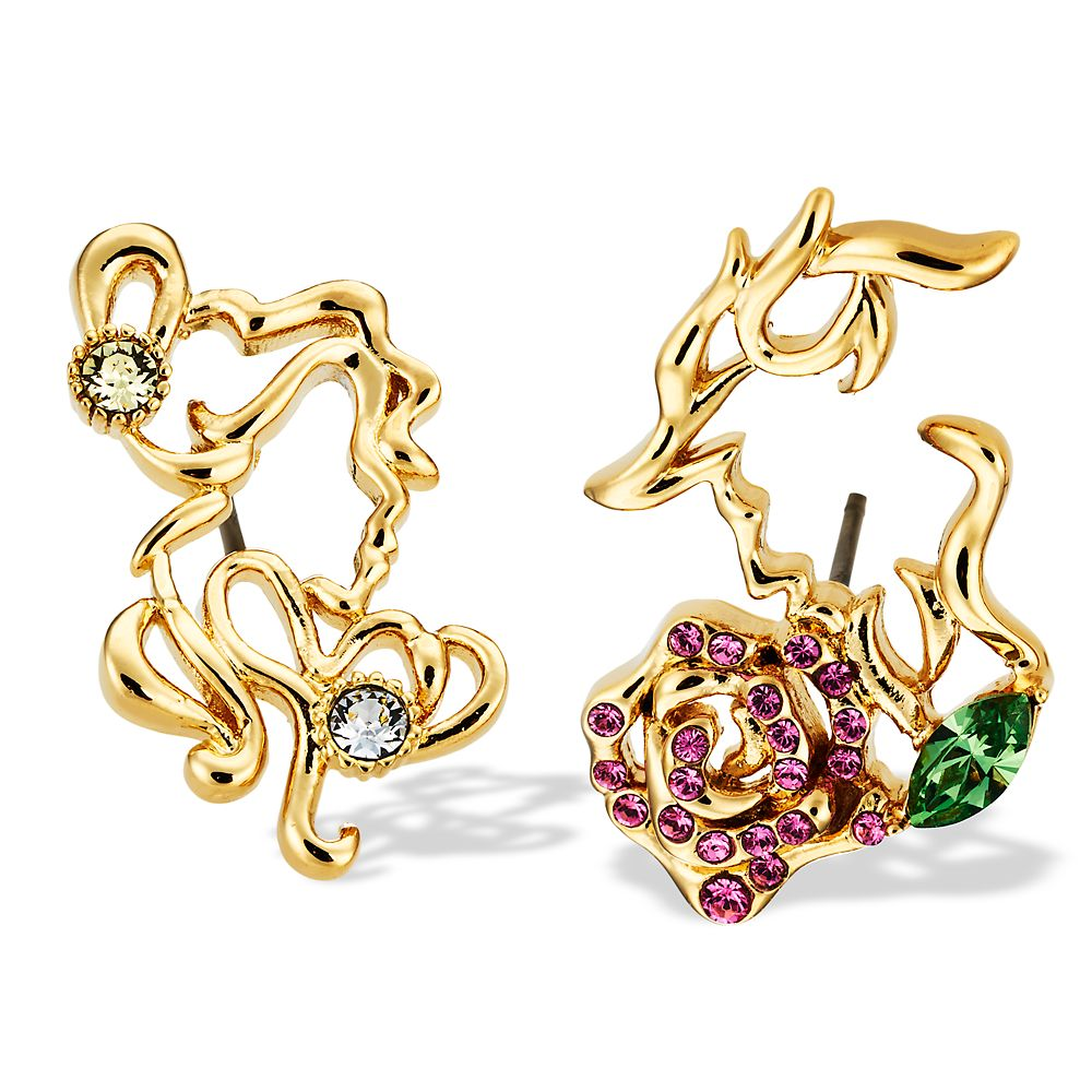 Beauty and the Beast Earrings by Arribas