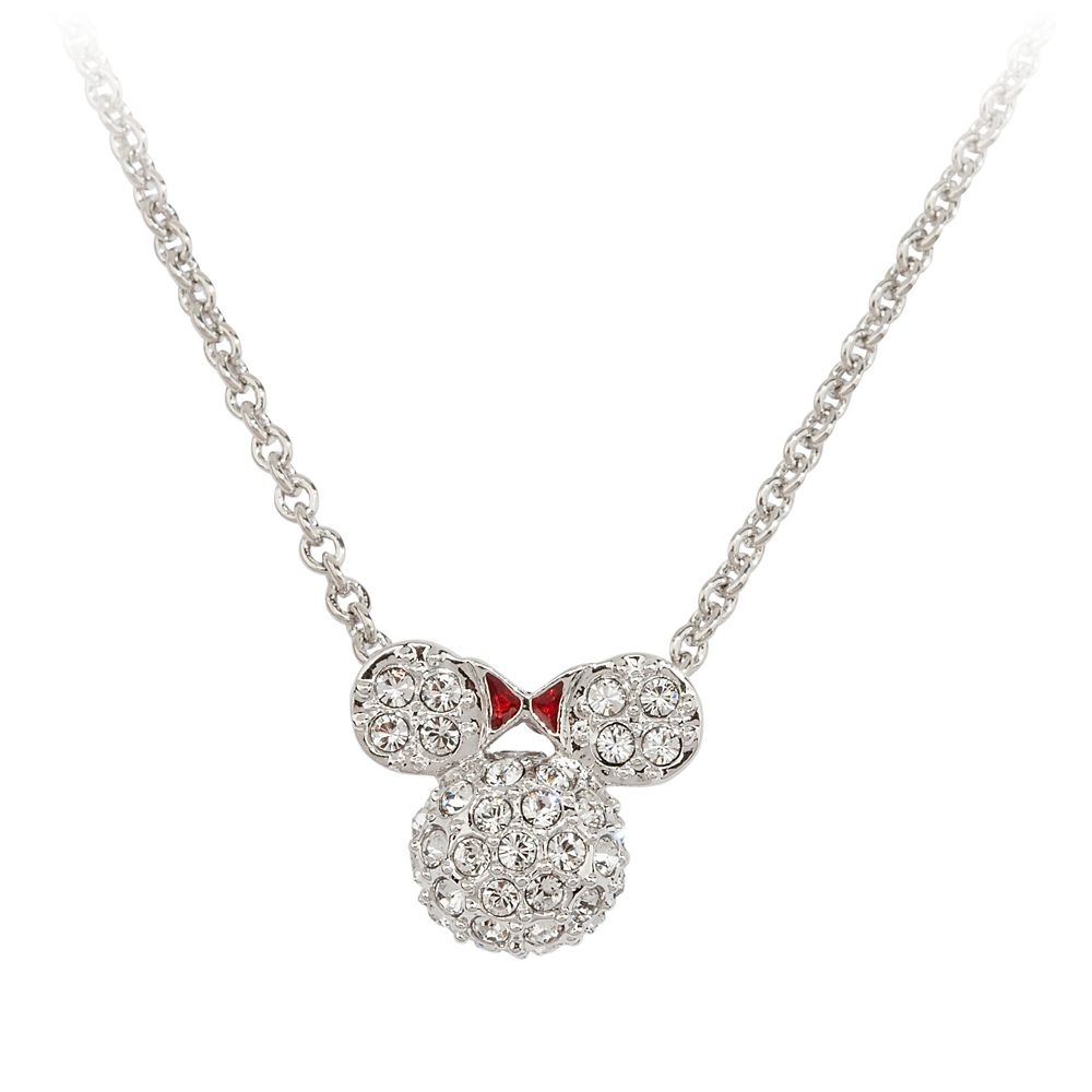 Minnie Mouse Icon Necklace by Arribas – Domed