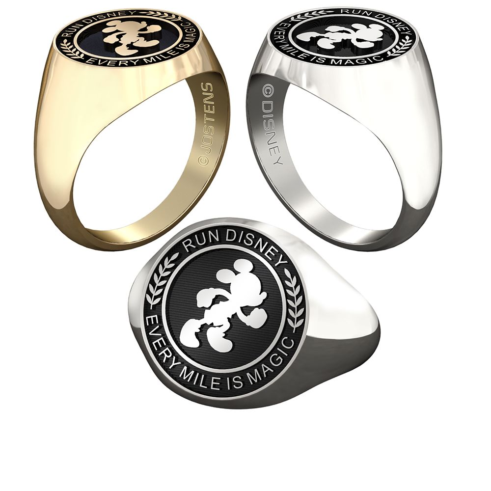 Mickey Mouse runDisney Ring for Women by Jostens – Personalizable