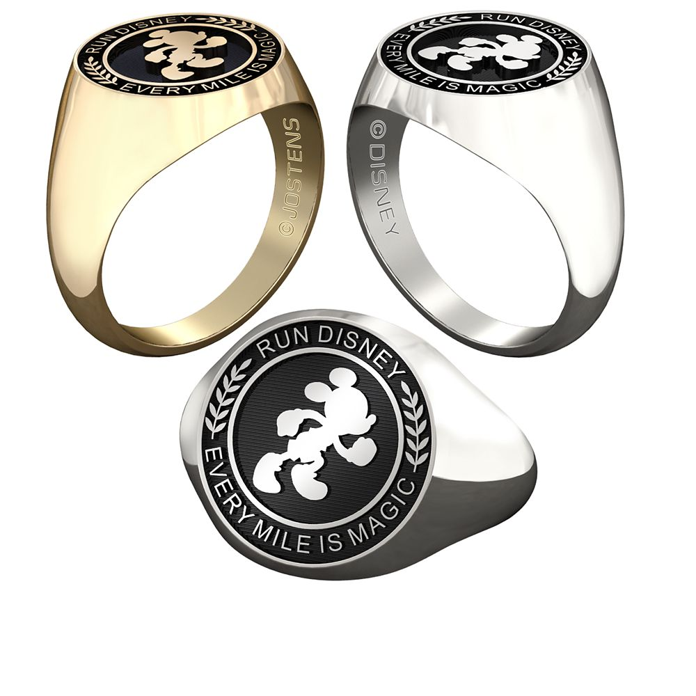 Mickey Mouse runDisney Ring for Men by Jostens – Personalizable