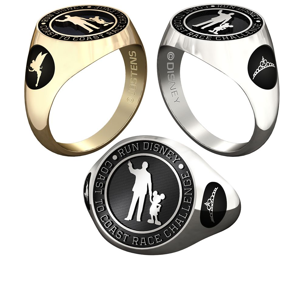 Tinker Bell and Princess runDisney Ring for Women by Jostens – Personalizable