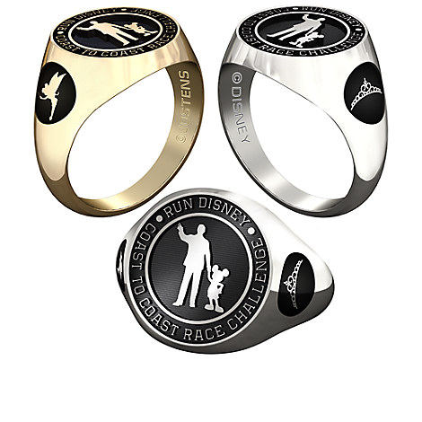 Tinker Bell and Princess RunDisney Ring for Women by Jostens - Personalizable
