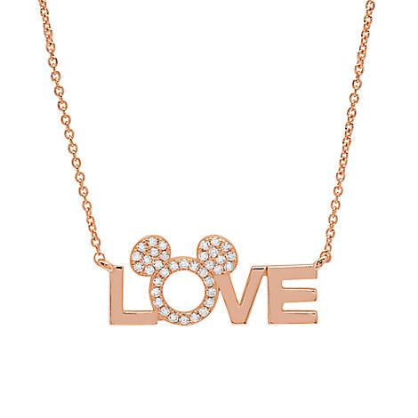 Love Mickey Necklace by CRISLU