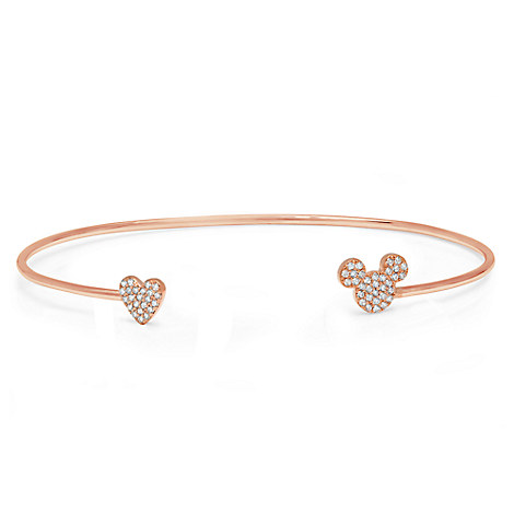 I Heart Mickey Mouse Bangle by CRISLU