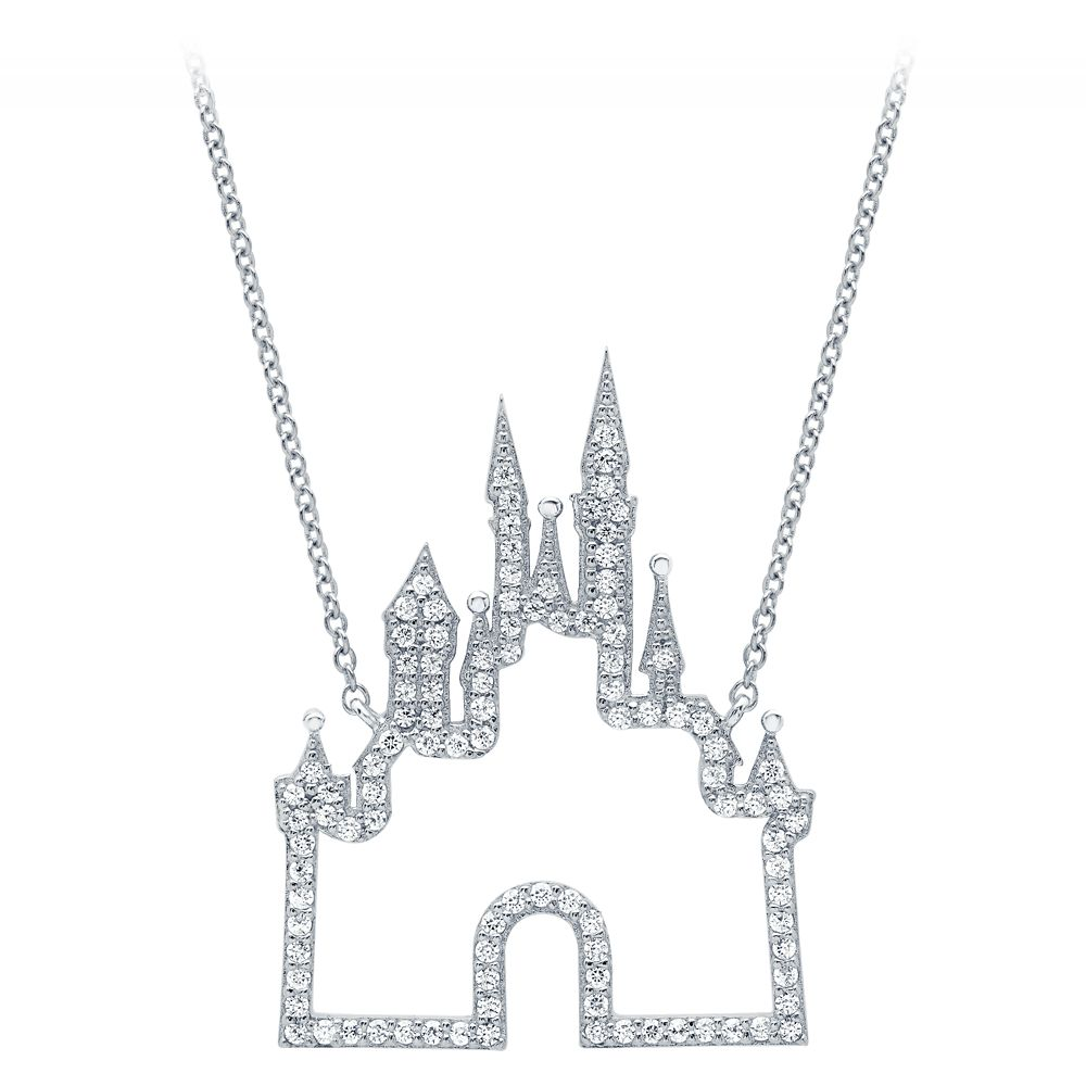 Fantasyland Castle Necklace by CRISLU – Platinum