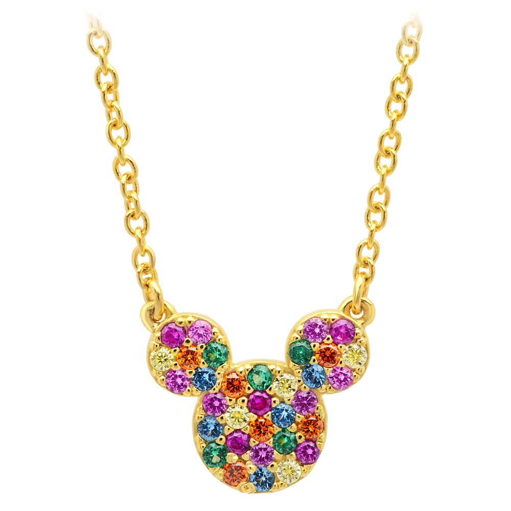 Mickey Mouse Rainbow Icon Necklace by CRISLU