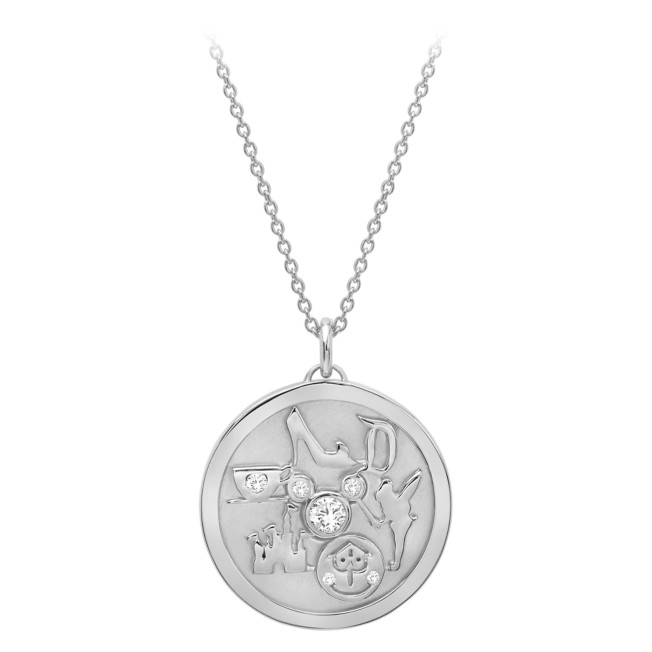 Disneyland Medallion Necklace by CRISLU