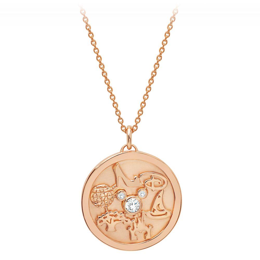 Walt Disney World Medallion Necklace by CRISLU