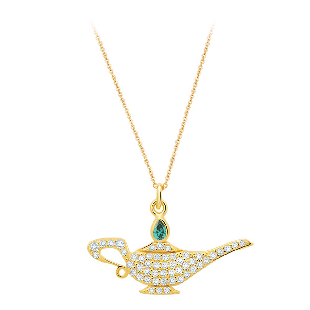 Genie Lamp Pavé Necklace by CRISLU – Aladdin