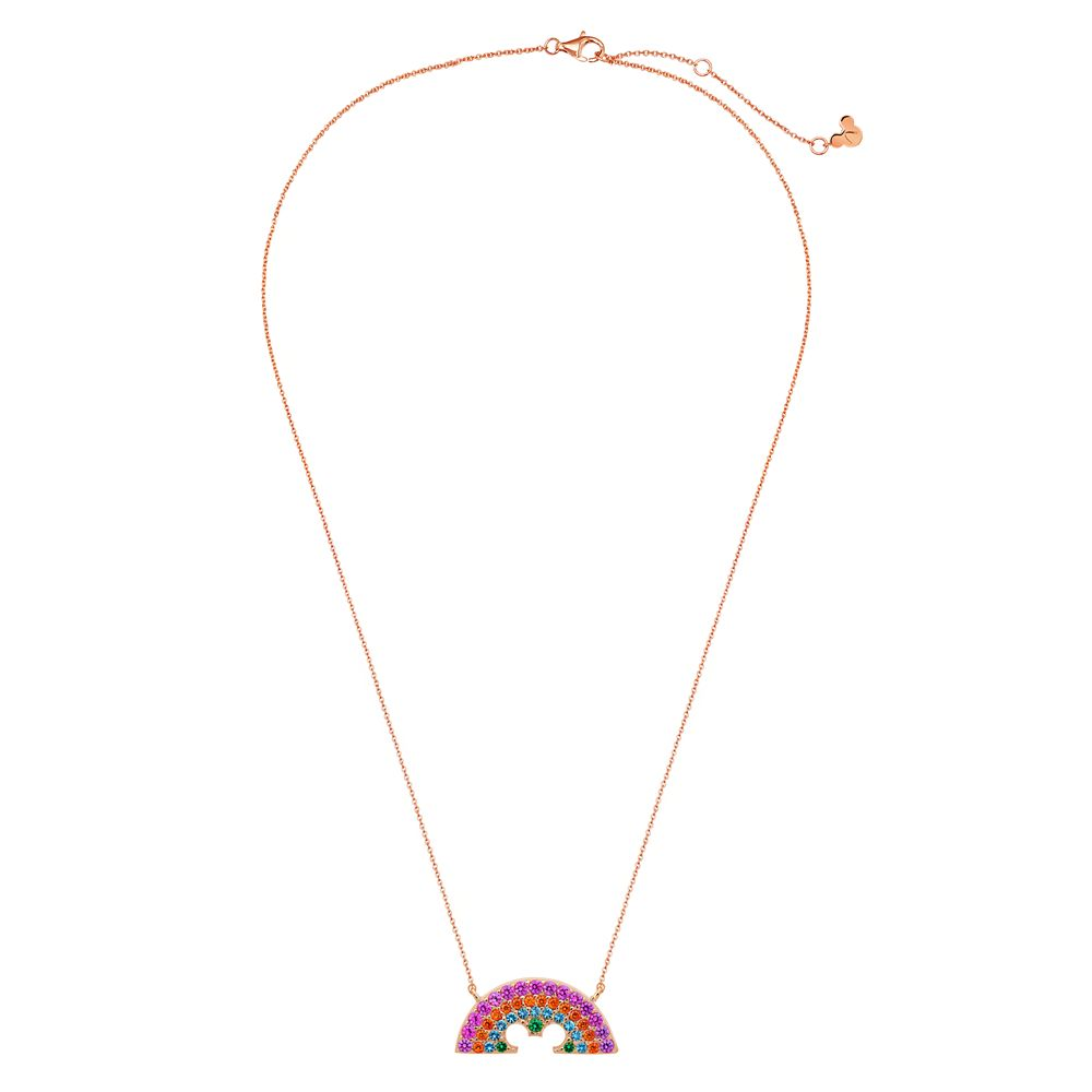 Rainbow Disney Collection Mickey Mouse Necklace by CRISLU