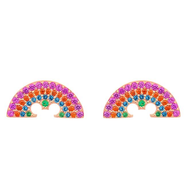 Rainbow Disney Collection Mickey Mouse Earrings by CRISLU