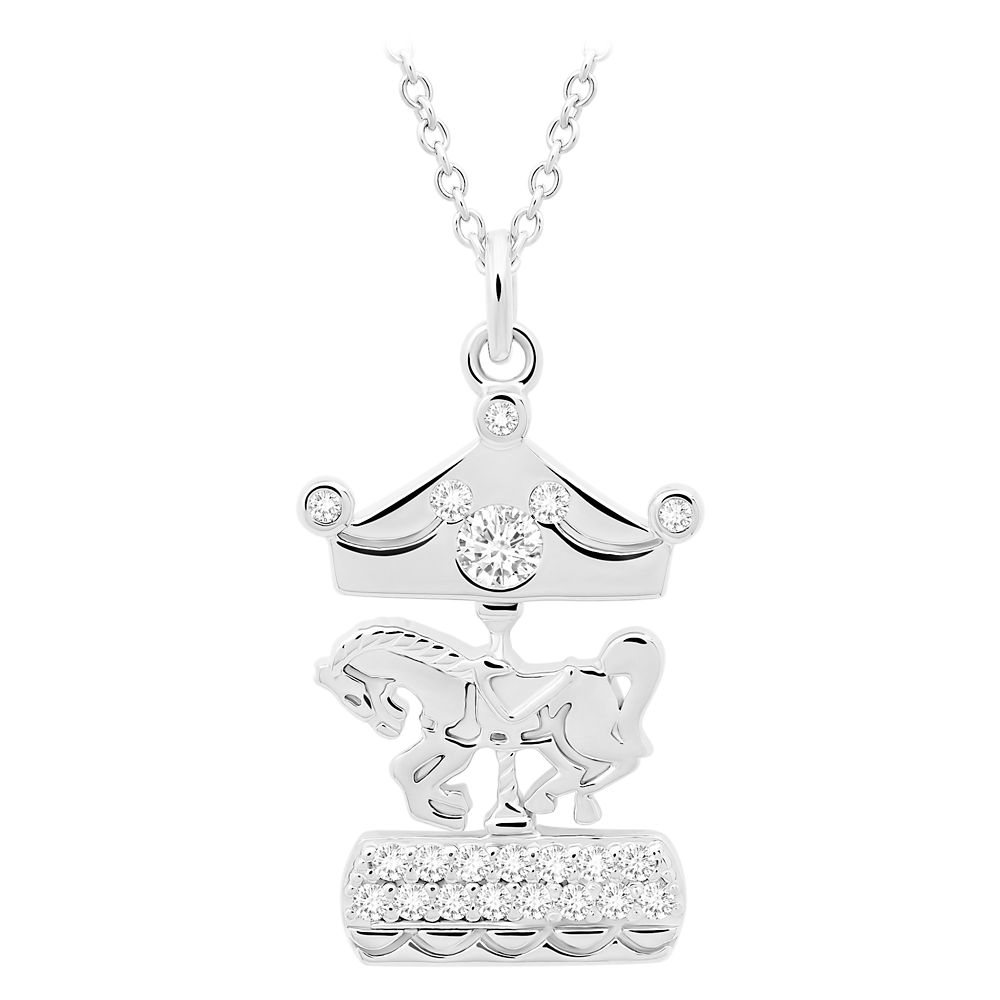 King Arthur Carrousel Horse Necklace by CRISLU