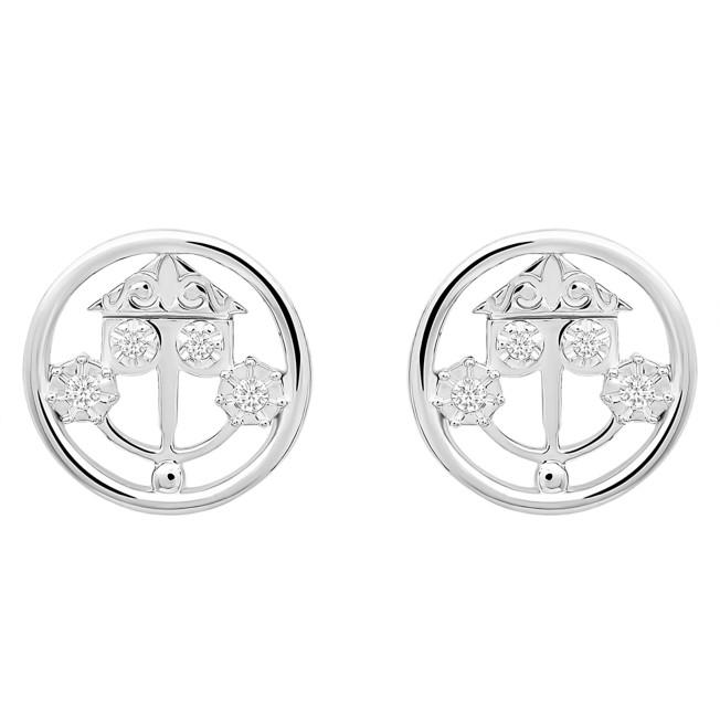Disney it's a small world Clockface Earrings by CRISLU