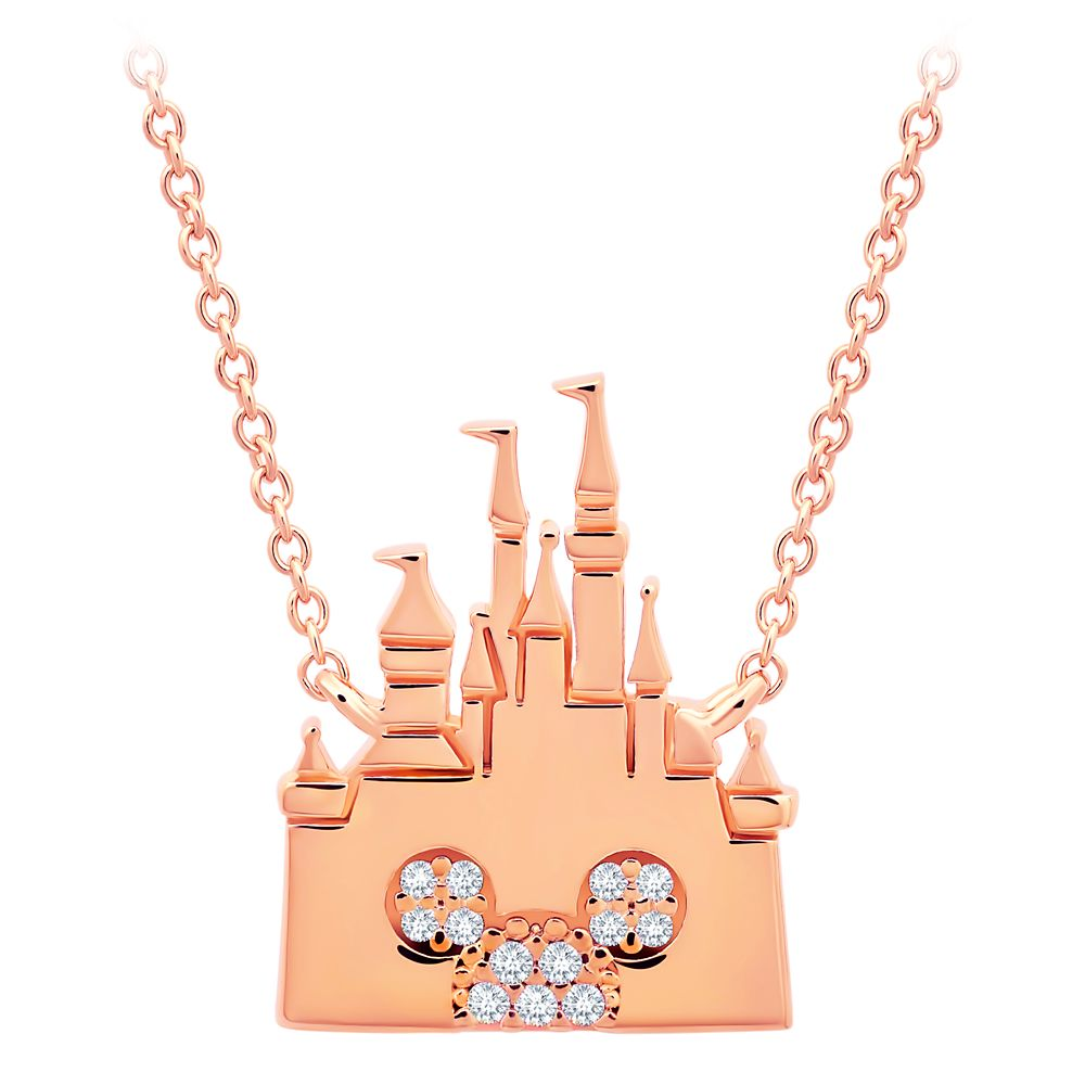 Mickey Mouse Fantasyland Castle Necklace by CRISLU