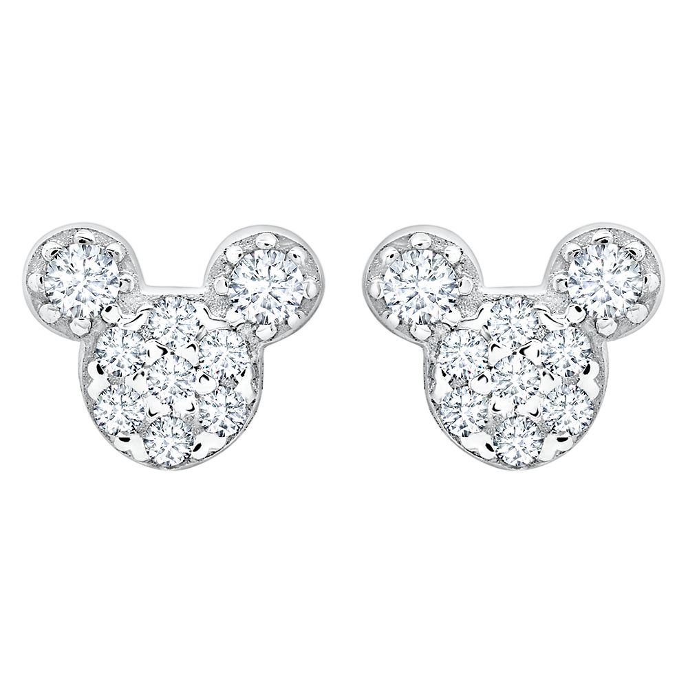 Mickey Mouse Icon Stud Earrings for Kids by CRISLU Official shopDisney