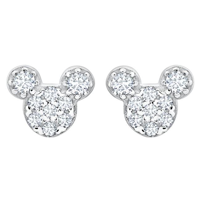 Mickey Mouse Icon Stud Earrings for Kids by CRISLU