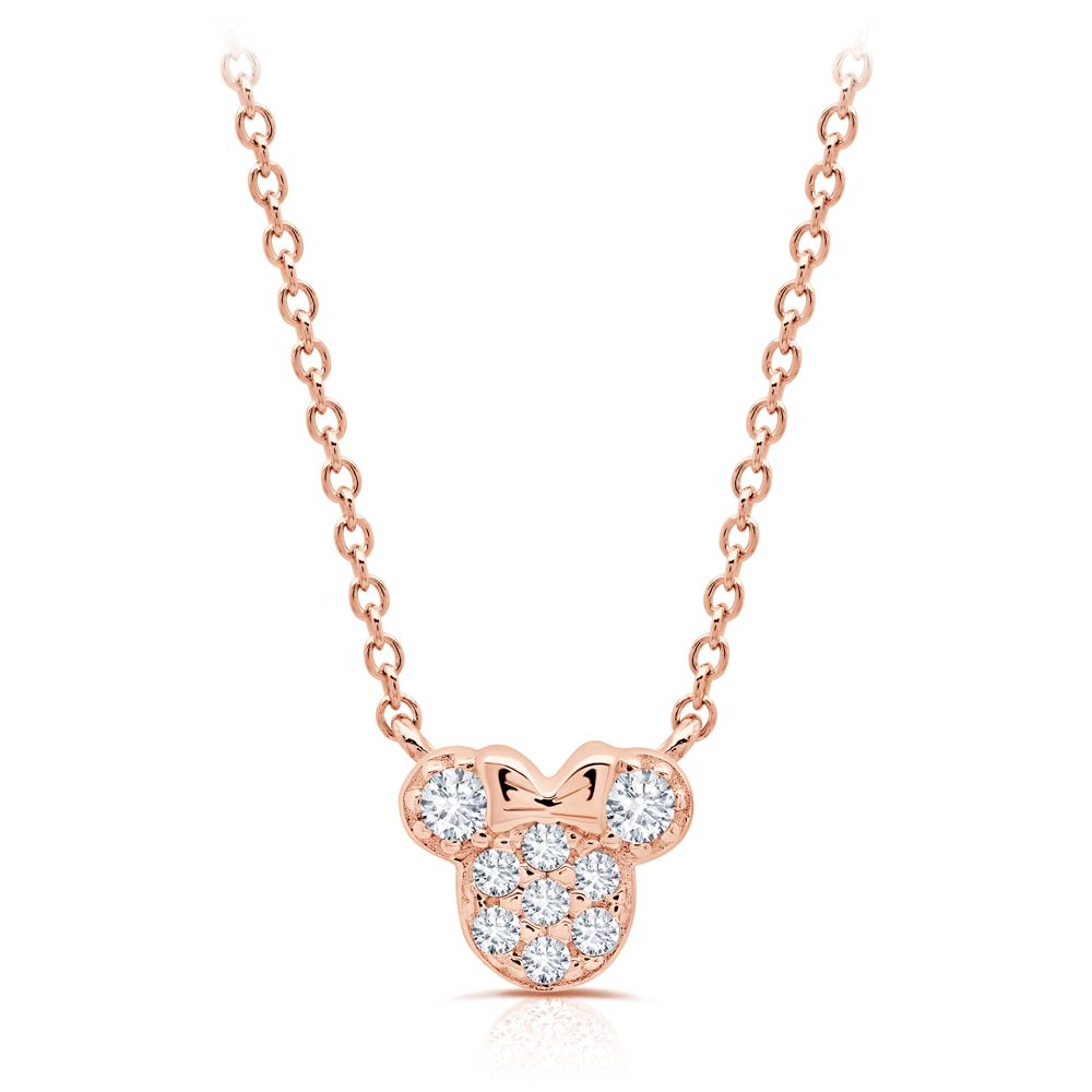 Minnie Mouse Icon Necklace for Kids by CRISLU