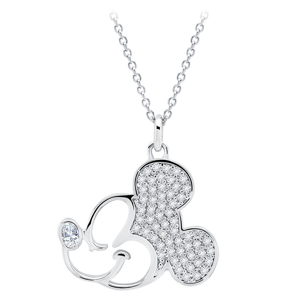 Mickey Mouse Profile Necklace by CRISLU