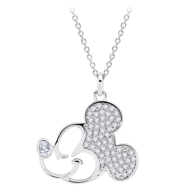 Mickey Mouse Profile Necklace by CRISLU