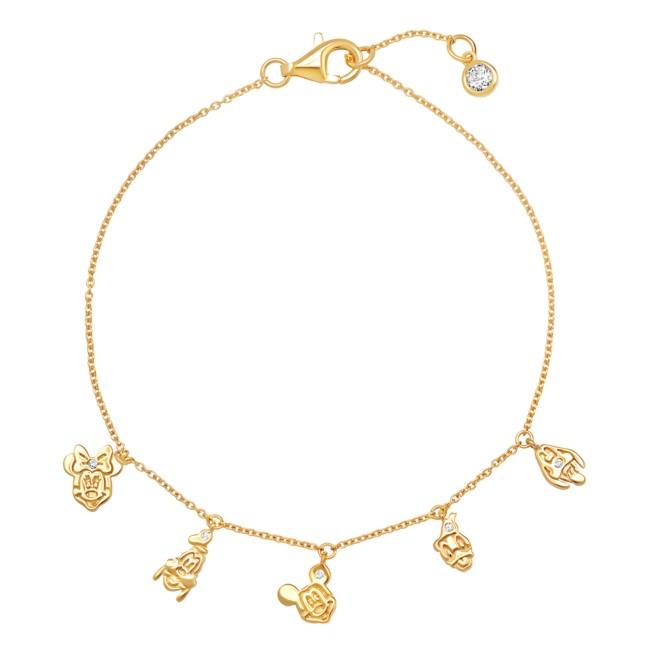 Mickey Mouse and Friends Charm Bracelet by CRISLU