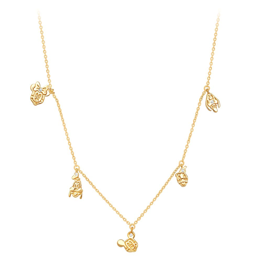 Mickey Mouse and Friends Charm Necklace by CRISLU